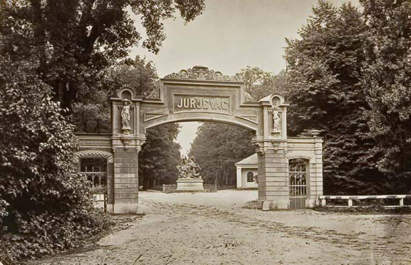 U drugoj polovini 19. stoljeća park je nosio ime Jurjevac