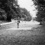 Početak igre golfa na terenima u Maksimiru, 1932.