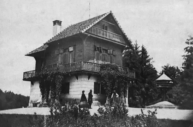 Maksimir - Švicarska kuća, 1864.