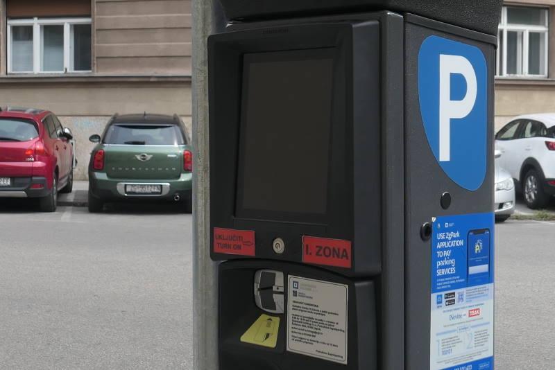 Parkiranja - naplata parkiranja - parkirališni automat