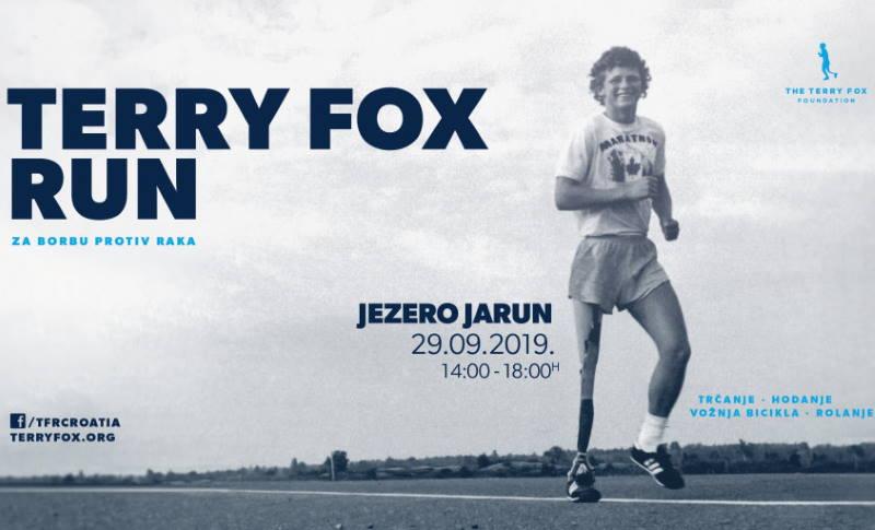 DANAS NAJAVLJENO: 20. humanitarna utrka Terry Fox Run 29. rujna na Jarunu