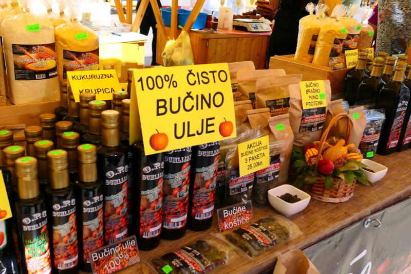 Tradicijski proizvodi - bučino ulje