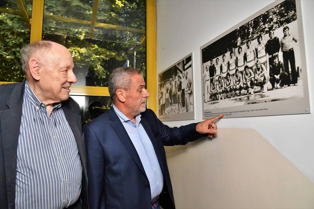 VUKOVI S TUŠKANCA: Izložba fotografija snimljenih na prvom igralištu KK Lokomotiva, na Tuškancu
