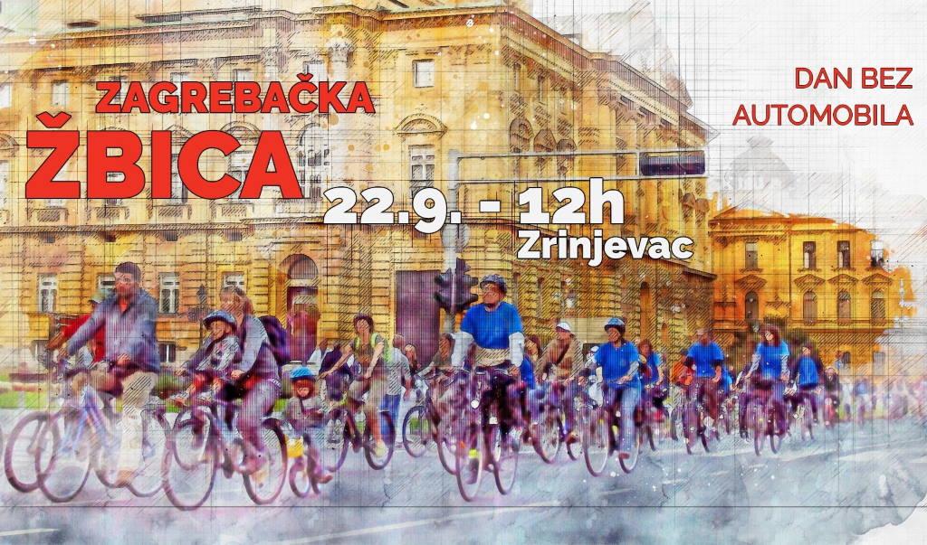 """U nedjelju središtem Zagreba """"vladaju"""" biciklisti, održat će se 19. Zagrebačka žbica i 3. Mala biciklijada"""