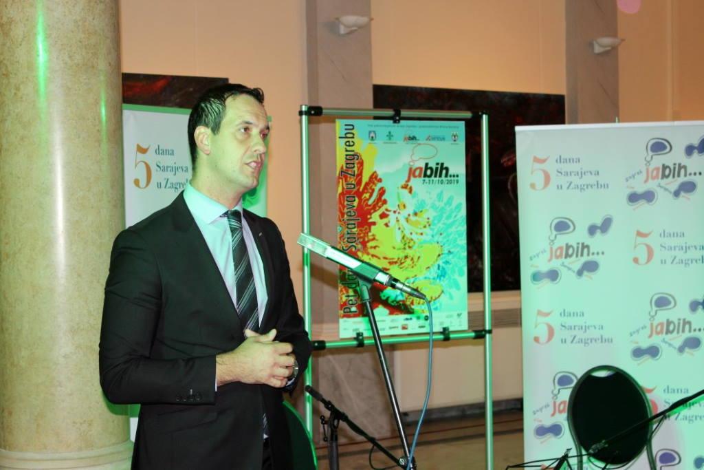 U muzeju Mimara otvoreno 8. izdanje festivala Pet dana Sarajeva u Zagrebu