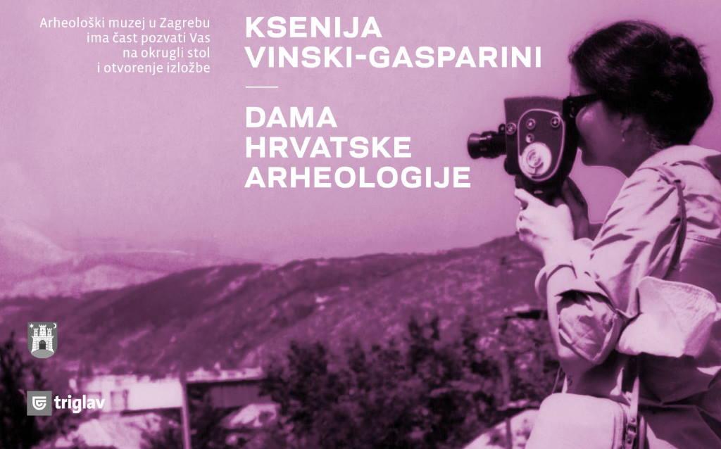 Ksenija Vinski-Gasparini - dama hrvatske arheologije