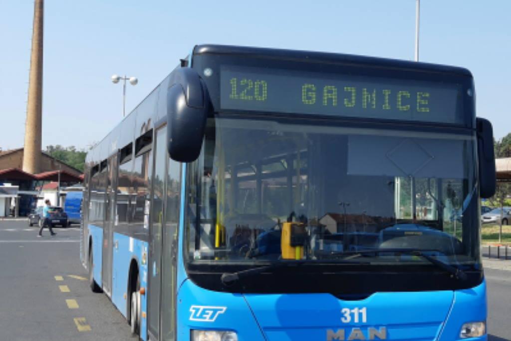PRODUŽENA AUTOBUSNA LINIJA 120: Od ponedjeljka umjesto do Gajnica, vozi sve do Prečkog