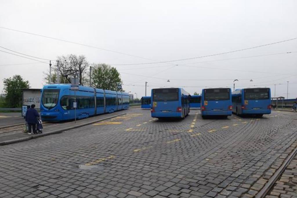 ZET - autobusi - Savski most