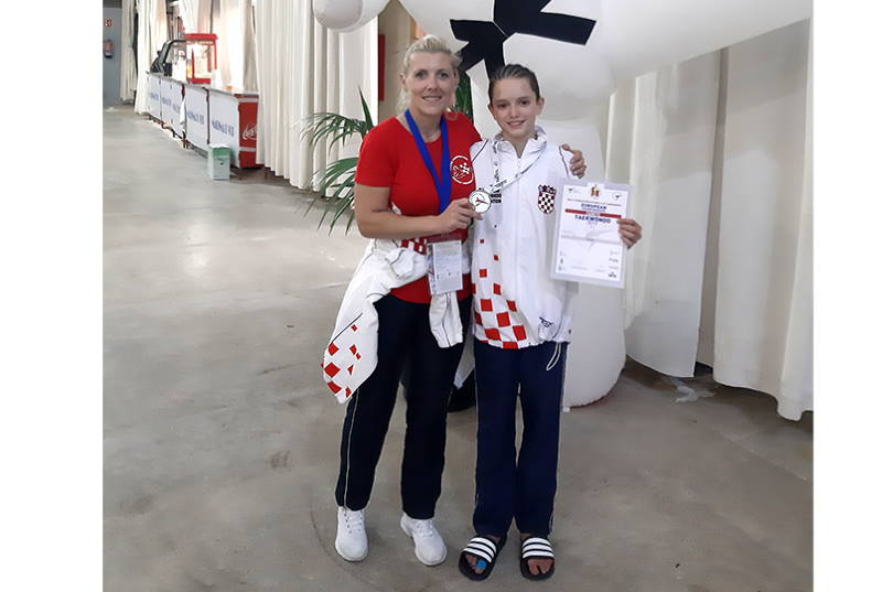 VICEPRVAK EUROPE: 13-ogodišnji Jan Flegar iz Bistre osvojio srebro na Europskom prvenstvu u taekwondou
