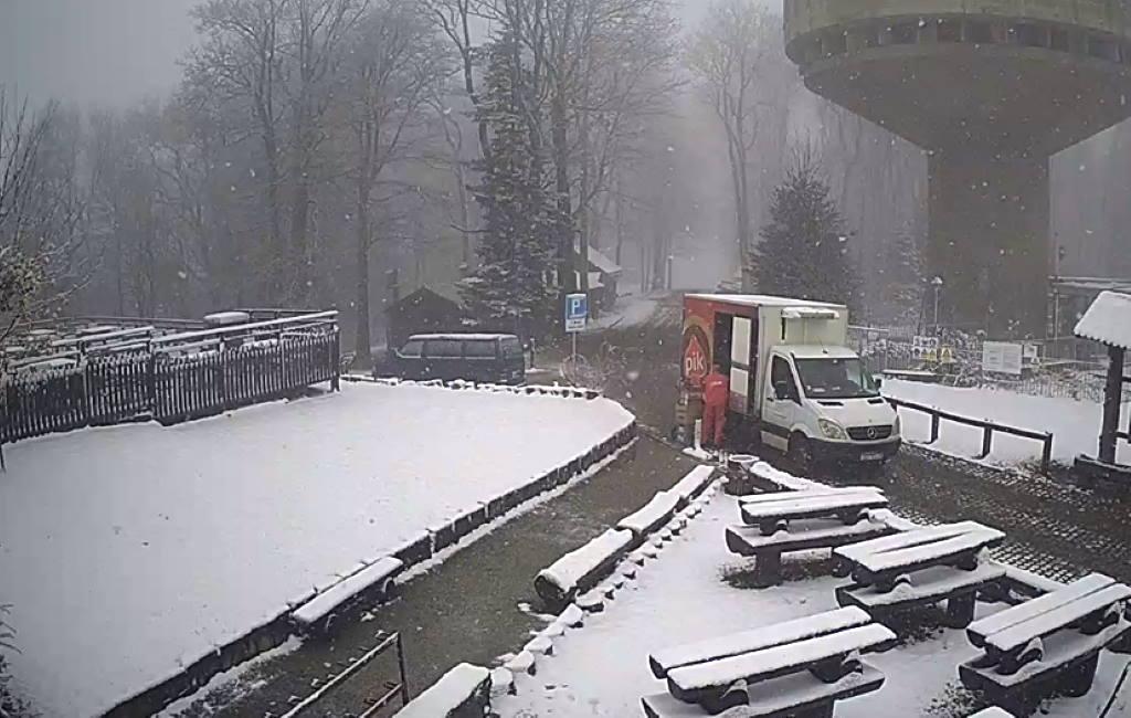 SLJEME SE ZABIJELILO: Danas je pao prvi ovosezonski snijeg!
