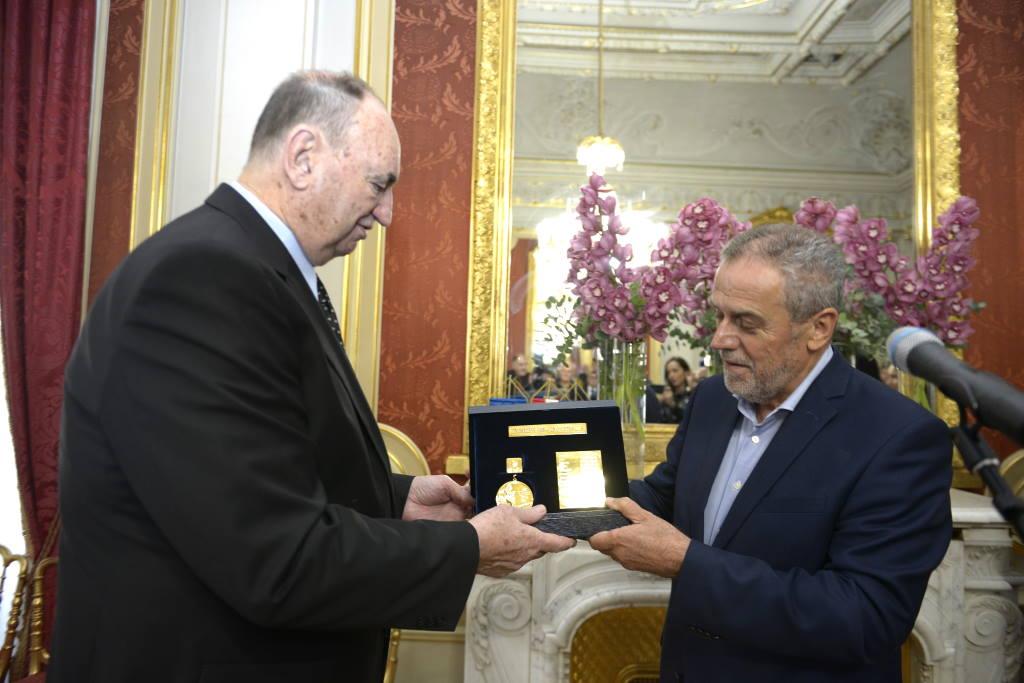 Bandić u palači Dverce primio zlatne vaterpoliste Olimpijskih igara 1968.