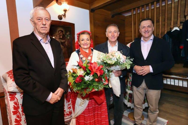 Župan Kožić posjetio Snježanu Dianežević, prvu pratilju Najuzornije hrvatske seoske žene