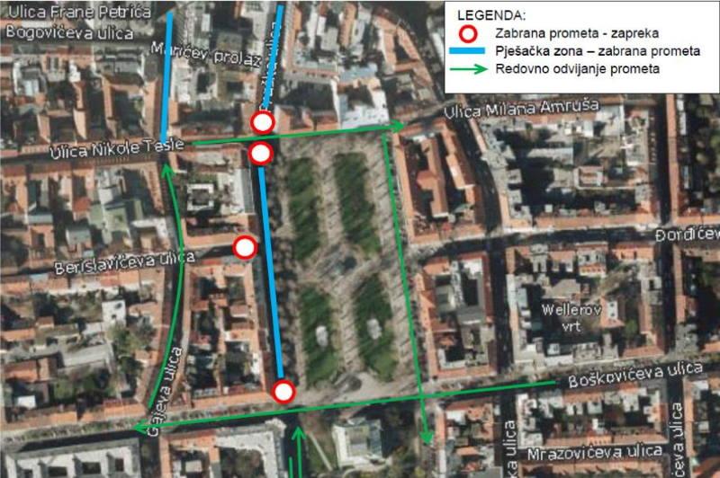 Advent u Zagrebu donosi i posebnu regulaciju prometa, evo u koje ulice nećete moći autom