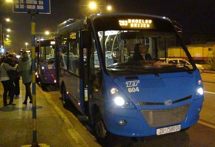 Autobusi na liniji 283 (Sesvete – Badelov Brijeg) od ponedjeljka voze novom trasom