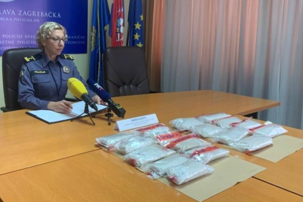 JOŠ JEDNA VELIKA ZAPLIJENA: Zagrebačka policija pronašla više od 4,5 kg heroina