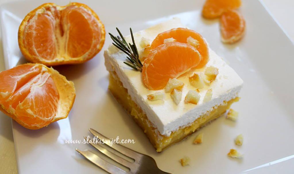 KOLAČ S MANDARINAMA: Osvježavajući kolač kojim ćete se oduševiti!