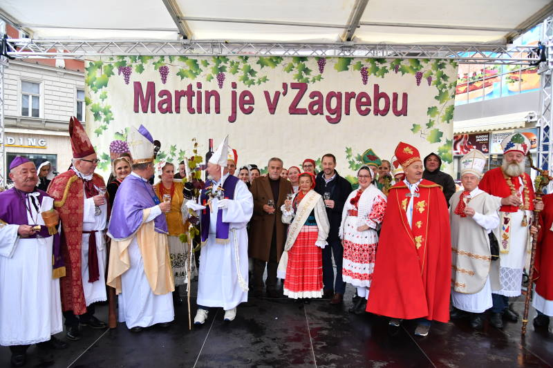 "Otvorena manifestacija ""Martin je v Zagrebu"", sudjeluju i četiri vinara s područja Grada Zagreba"