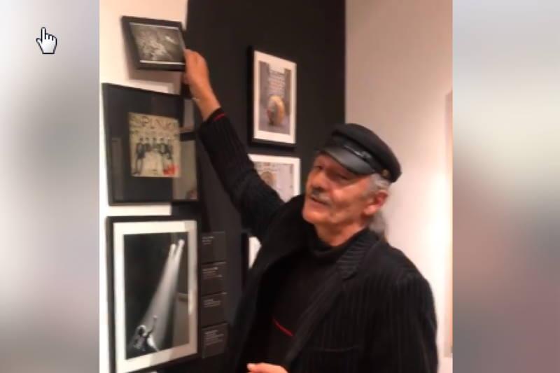 SKANDAL ILI PERFORMANS? Jasmin Krpan uklonio svoju fotografiju sa zida Moderne galerije