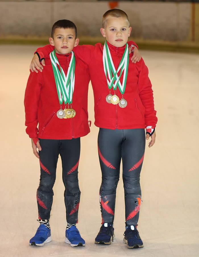 SJAJAN USPJEH: Mladi hrvatski brzoklizači briljirali u Budimpešti, osvojili 8 medalja!