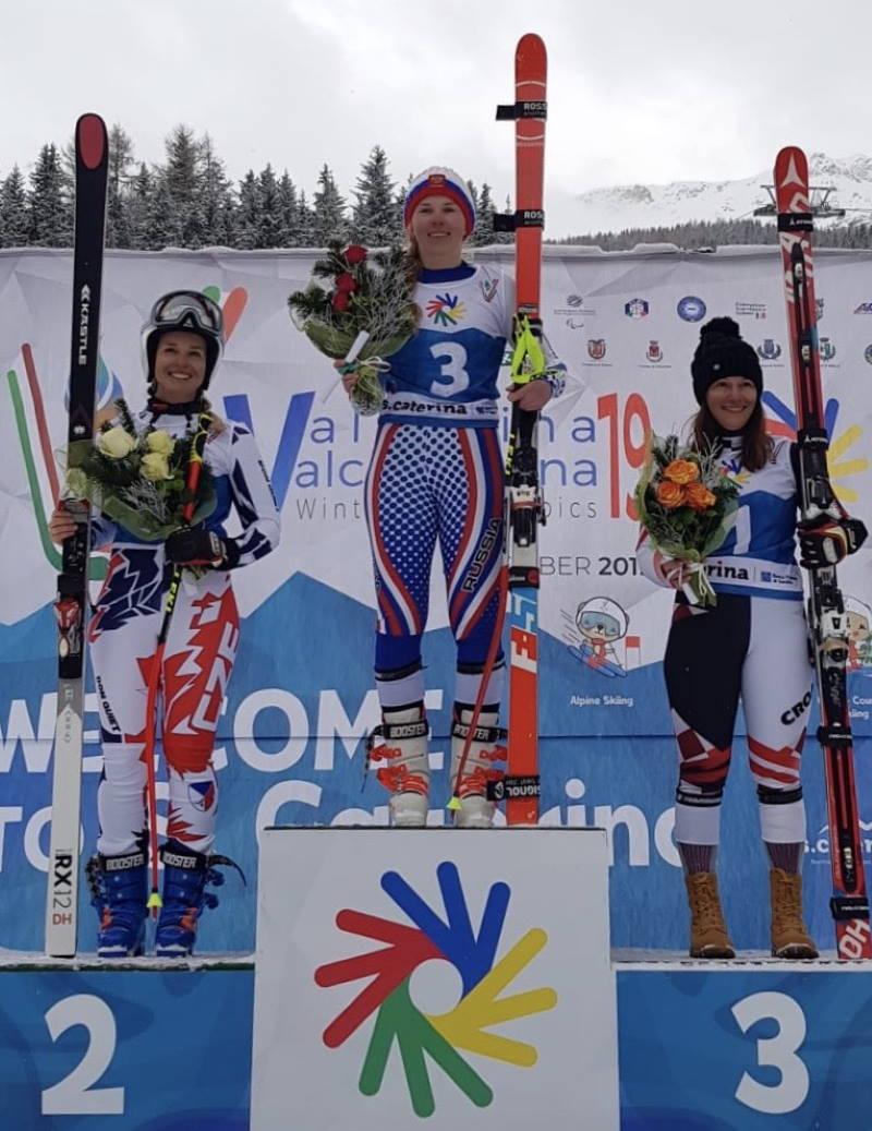 SKIJANJE: Rea Hraski osvojila je brončanu medalju u spustu na Zimskim olimpijskim igrama gluhih