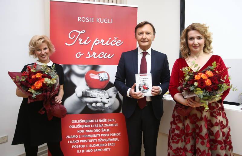 """Predstavljen prvi hrvatski edukativni roman """"Tri priče o srcu"""", objavljen u nakladi Zaklade """"Hrvatska kuća srca"""""""