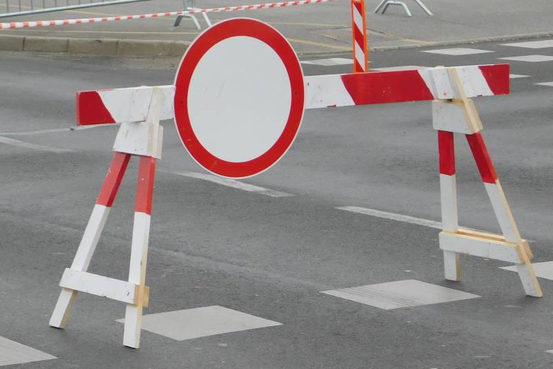 Ulica zatvorena za promet