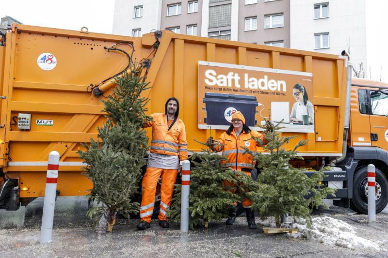 Građani Beča dobivaju struju i grijanje iz recikliranih božićnih drvaca