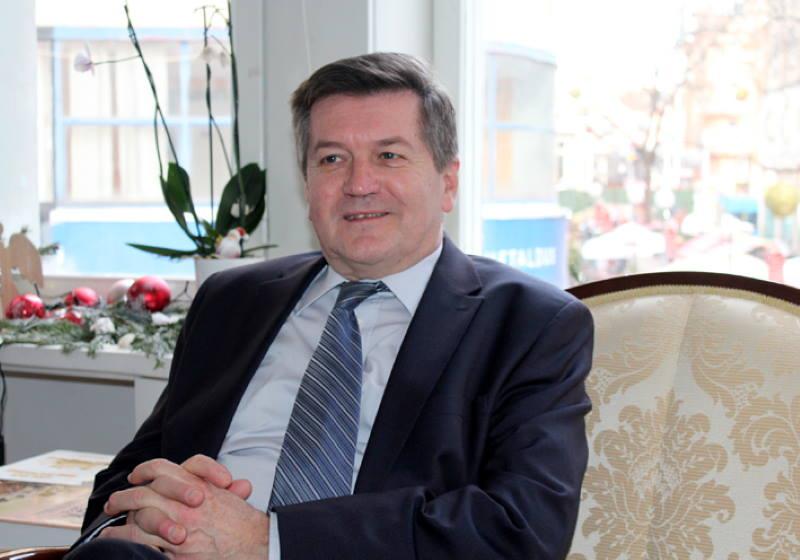 Dražen Vikić-Topić, dopredsjednik HKD Napredak i predsjednik Napretkovog kulturnog centra