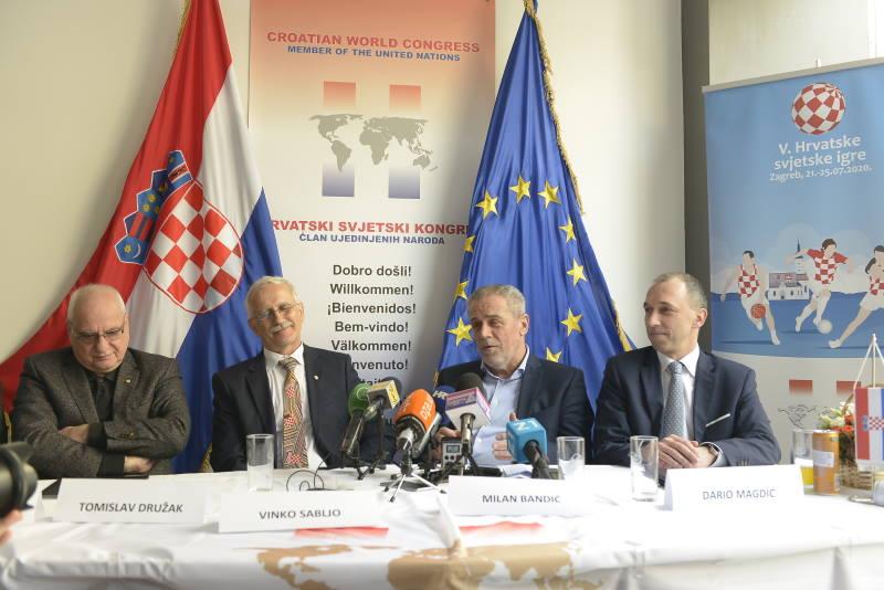 Najavljene V. Hrvatske svjetske igre na kojima će sudjelovati hrvatski iseljenici iz svih dijelova svijeta