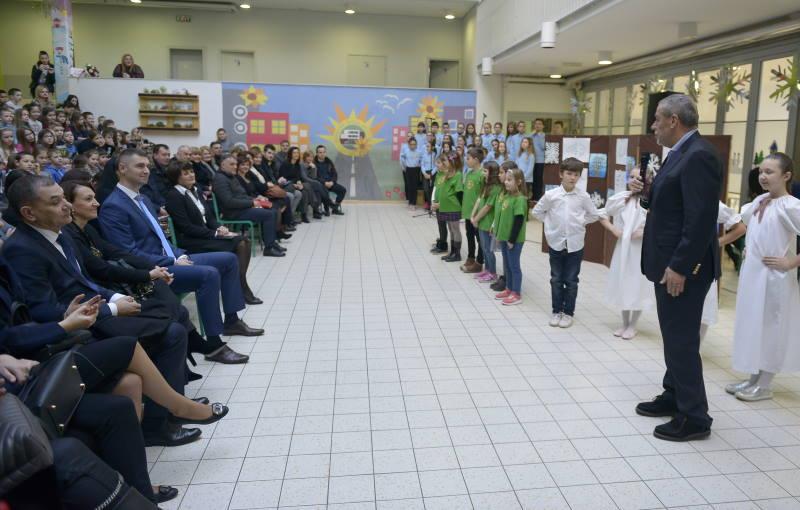 Svečano otvoreni radovi na nadogradnji i rekonstrukciji Osnovne škole Jelkovec
