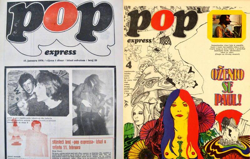 """MLADI I BUNTOVNI: Kratka povijest zagrebačkog """"Pop expressa"""""""