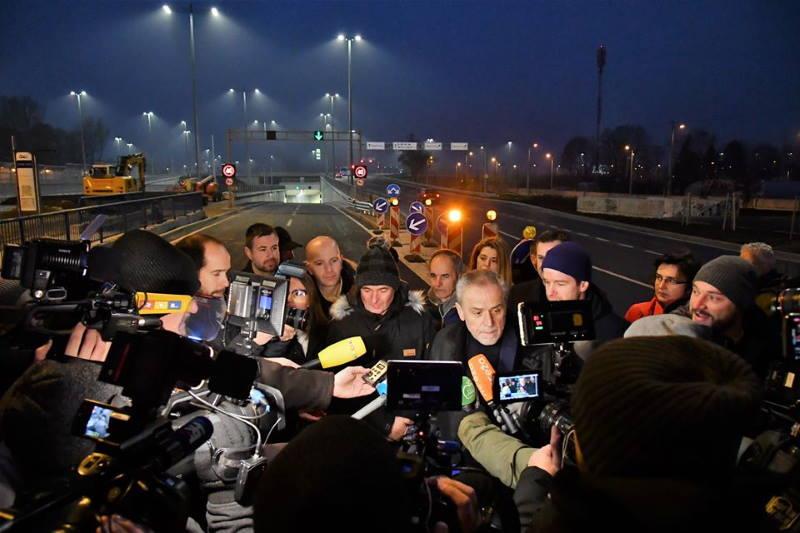 NOVI ZAGREB MOŽE ODAHNUTI: Jutros rano pušten je u promet remetinečki rotor!