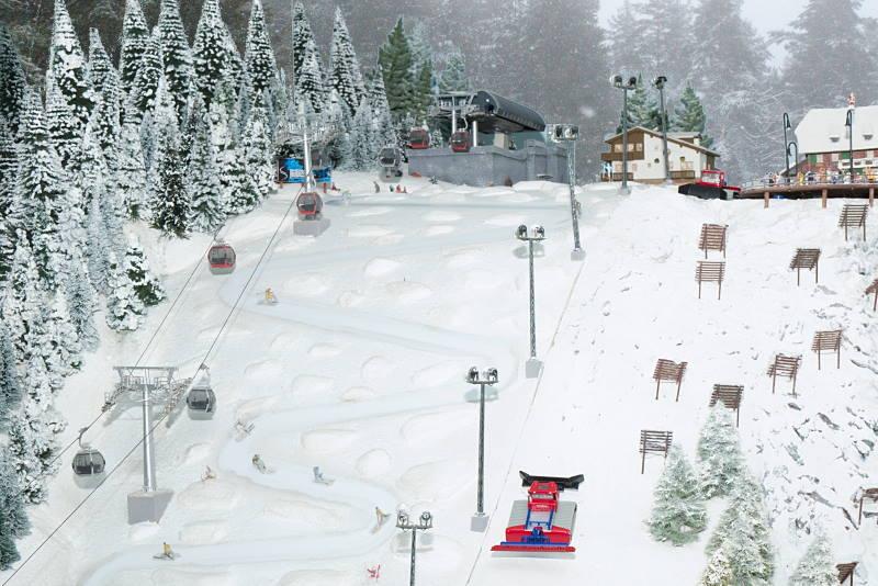 U zagrebačkom Muzeju vlakića Backo Mini Express Snježna kraljica se vozi svakog dana