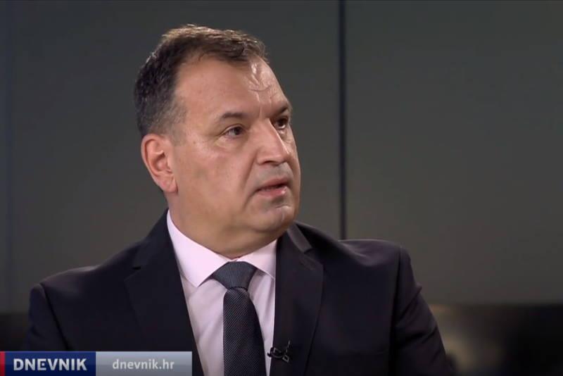 Vili Beroš u Dnevniku Nove TV
