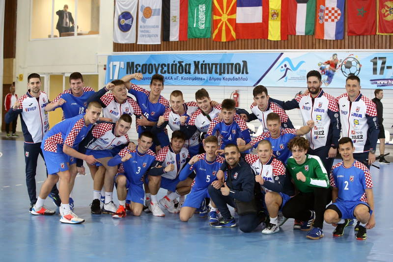 VELIKI USPJEH HRVATSKIH KADETA: Bronca za najmlađu momčad Mediteranskog prvenstva!