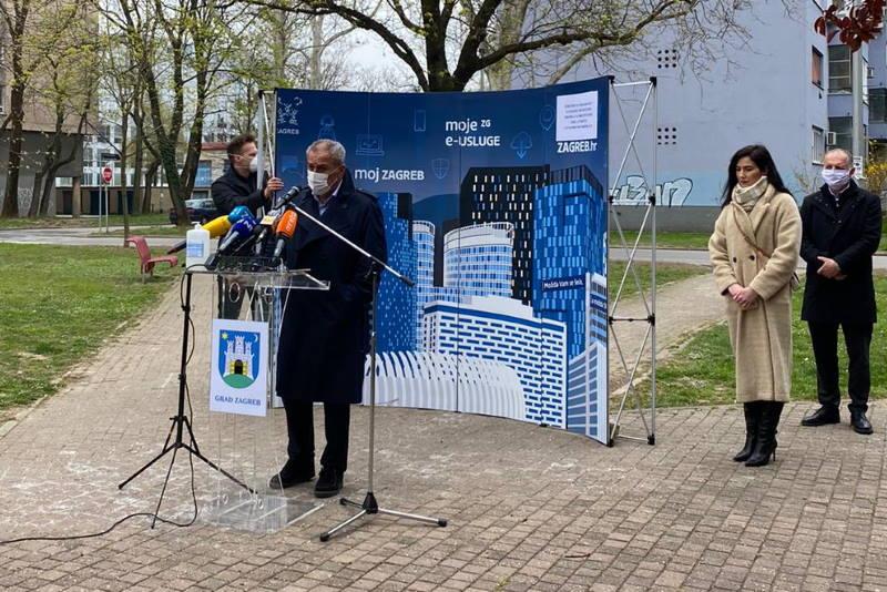 Bandić predstavio je novoosnovani Sektor za građenje i sanaciju oštećenih objekata