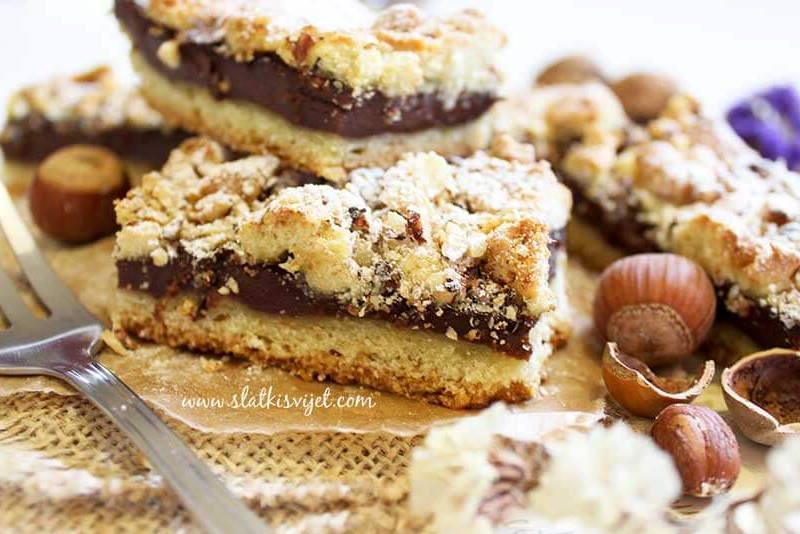 MRVIČASTA ČOKO PITA: Prhka i ukusna, fini spoj čokolade i lješnjaka