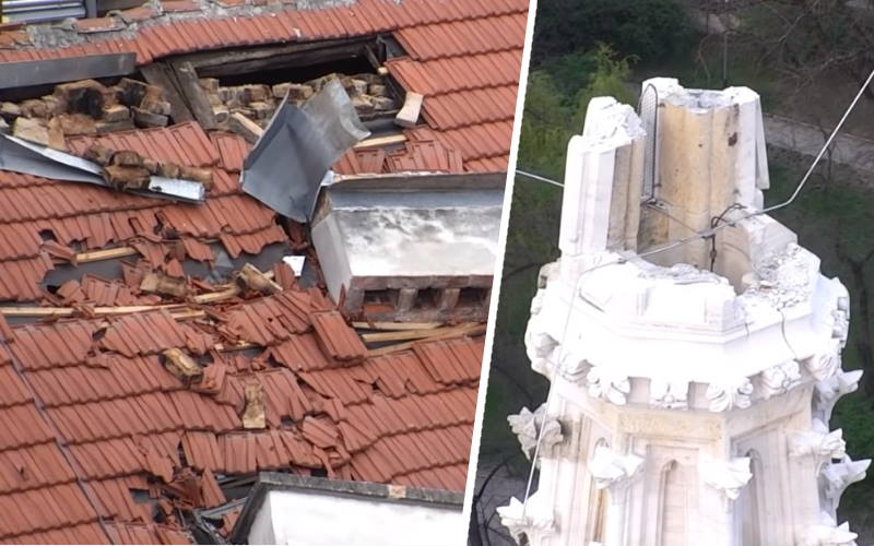 VIDEO: Hrvatska vojska dronovima snimila Zagreb nakon potresa, pogledajte kako izgleda…