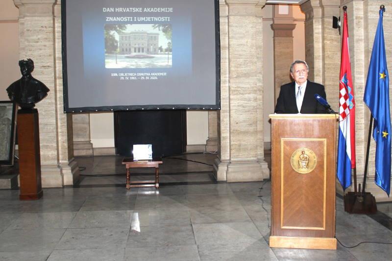 Hrvatska akademija znanosti i umjetnosti obilježila svoj dan i 159. godišnjicu osnutka