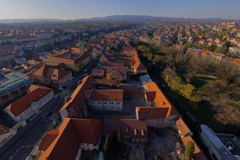 Kako je u četvrtak izgledao Zagreb iz zraka? Pogledajte panoramsku snimku!
