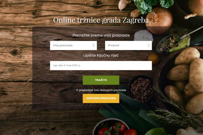 KUPUJTE BEZ RIZIKA OD ZARAZE: Ponuda zagrebačkih tržnica sada je dostupna na internetu