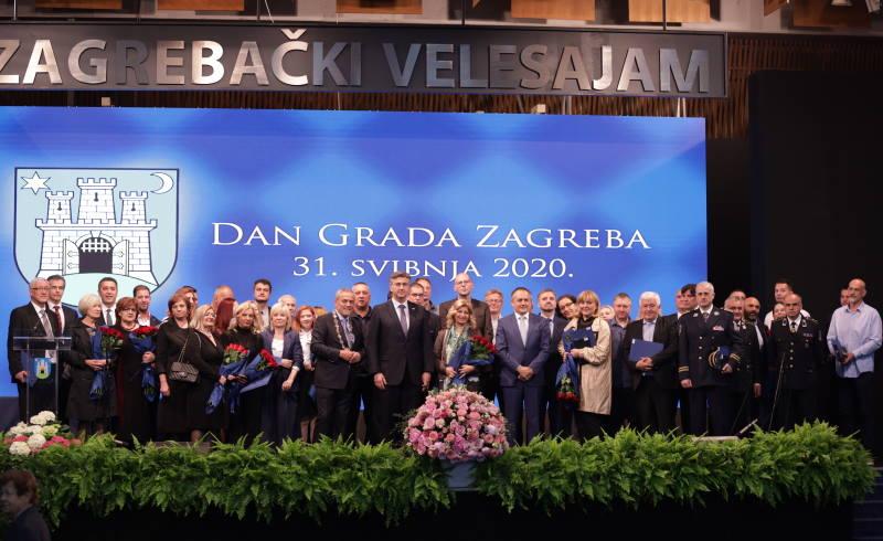 Uručene nagrade u povodu Dana Grada Zagreba, Zagrepčanka godine je Marija Sekelez