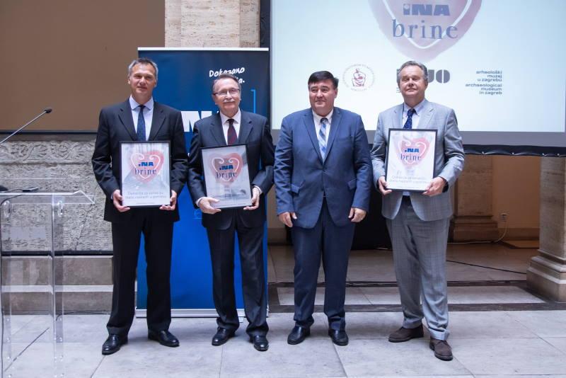 INA donira 2,4 milijuna kuna zagrebačkim kulturnim i znanstvenim institucijama stradalima u potresu