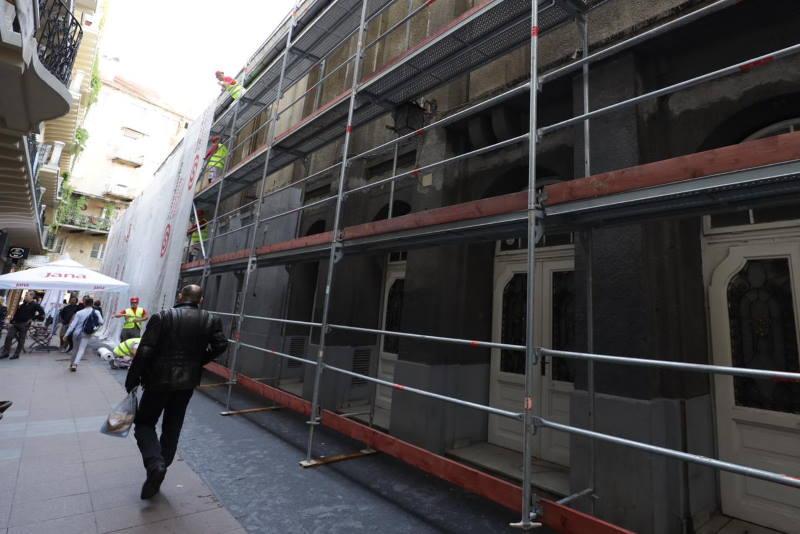 Jutros započeli radovi na obnovi kina Europa