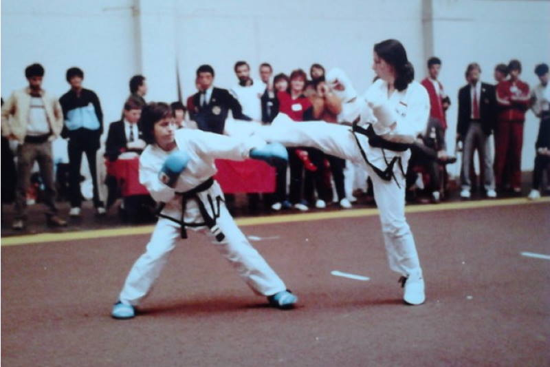 U policijskoj postaji Maksimir radi jedna od najboljih hrvatskih taekwondoašica svih vremena