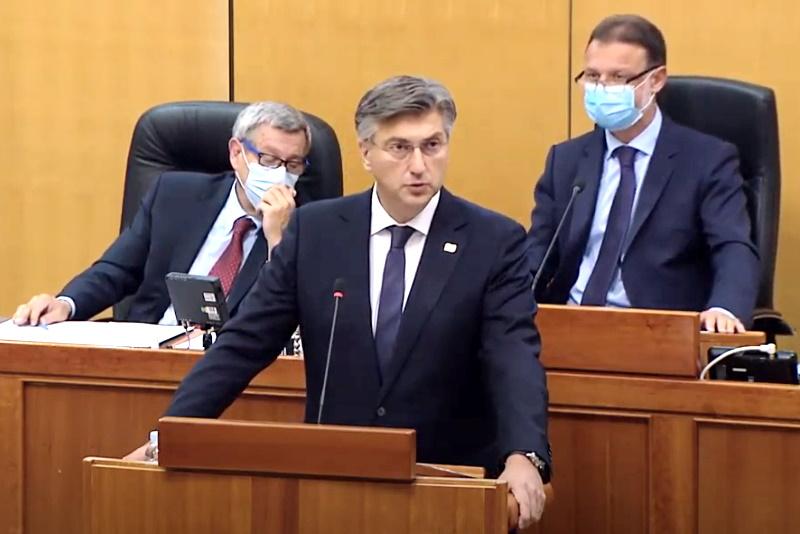 DA SE NE ZABORAVI: Evo što je sve premijer Plenković obećao predstavljajući novu Vladu