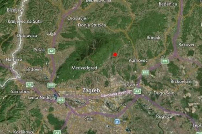 ZAGREB SE OPET TRESAO: Seizmološka služba zabilježila potresa magnitude je 2,3 prema Richteru