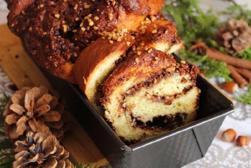 ČOKOLADNA BABKA S LJEŠNJACIMA: Fini, aromatični kolač od dizanog tijesta