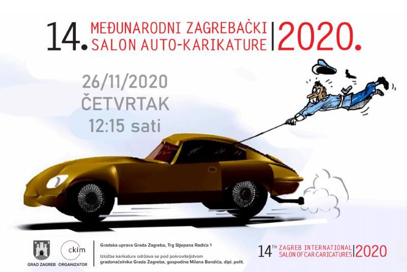 Najavljeno otvorenje 14. Međunarodnog zagrebačkog salona auto-karikature