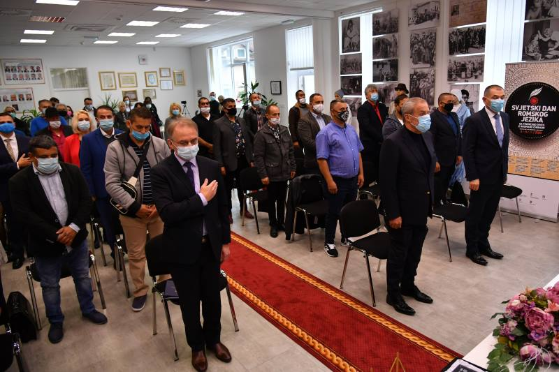 Održana središnja svečanost u povodu obilježavanja Svjetskog dana romskog jezika.